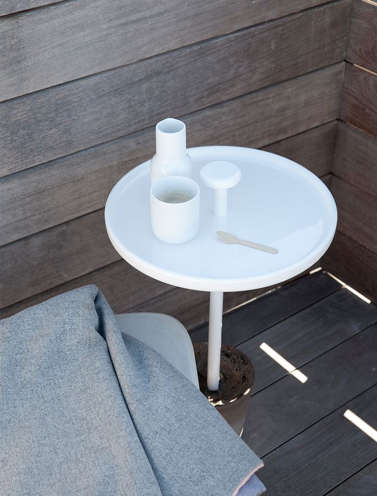 Pin Table, White Design by Andreas Engesvik