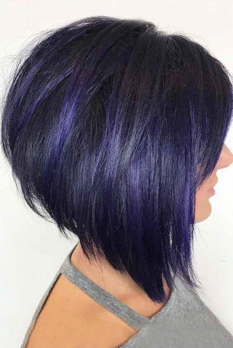 24 Best Stacked Bob and Short Straight Hairstyles Ideas – Page 5 of 24 – HAIRSTYLE ZONE X #shortstraighthair
