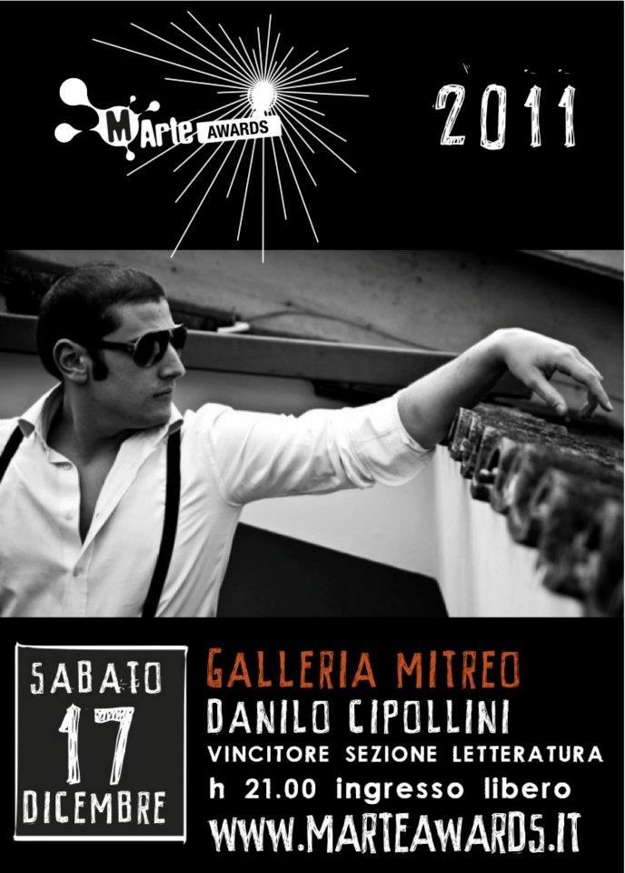 Danilo Cipollini - vincitore sezione Letteratura