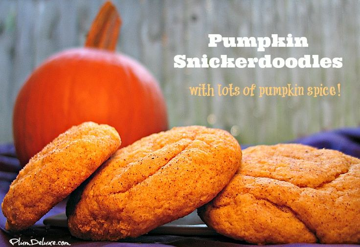 pumpkin snickerdoodles How to Host the Perfect Coffee Klatch in 4 Easy Steps