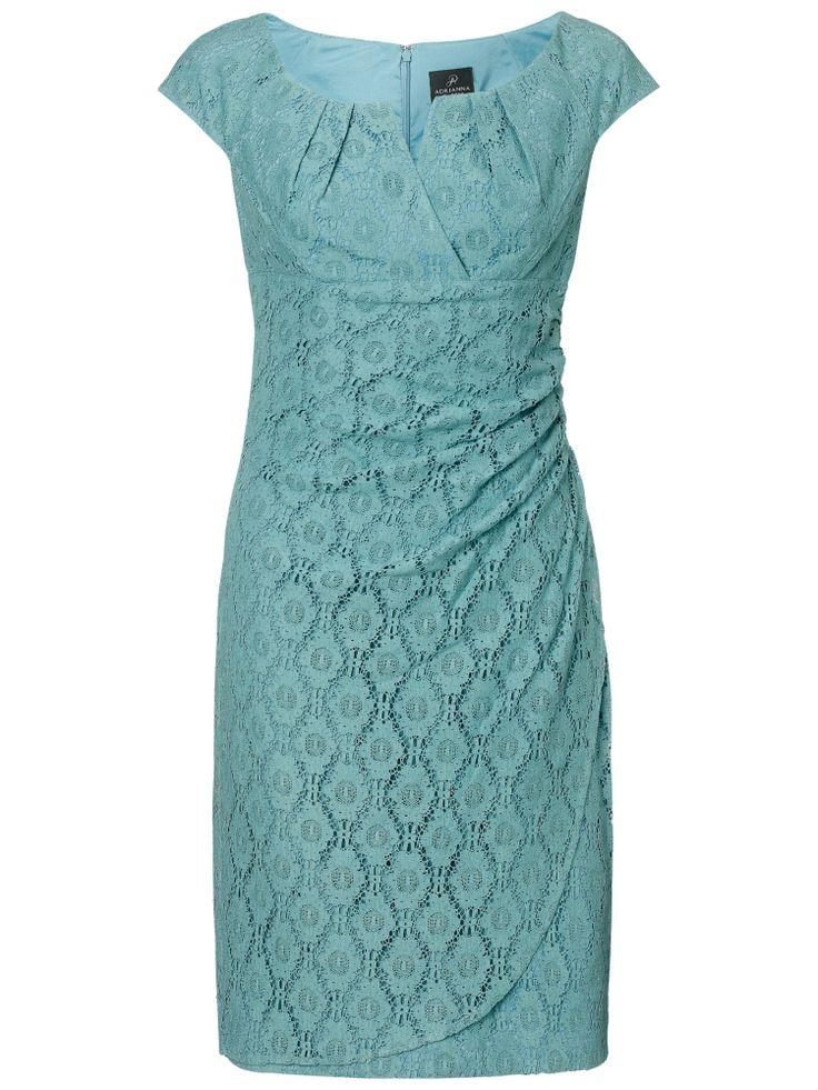 Adrianna Papell Slit Dress, Robins Egg Blue