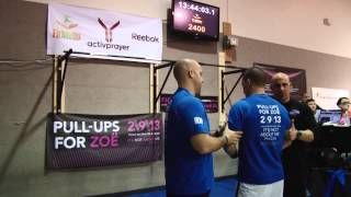 Pull-ups for Zoe: first #activprayer event to inspire extraordinary action and raise money for #cycsticfibrosis