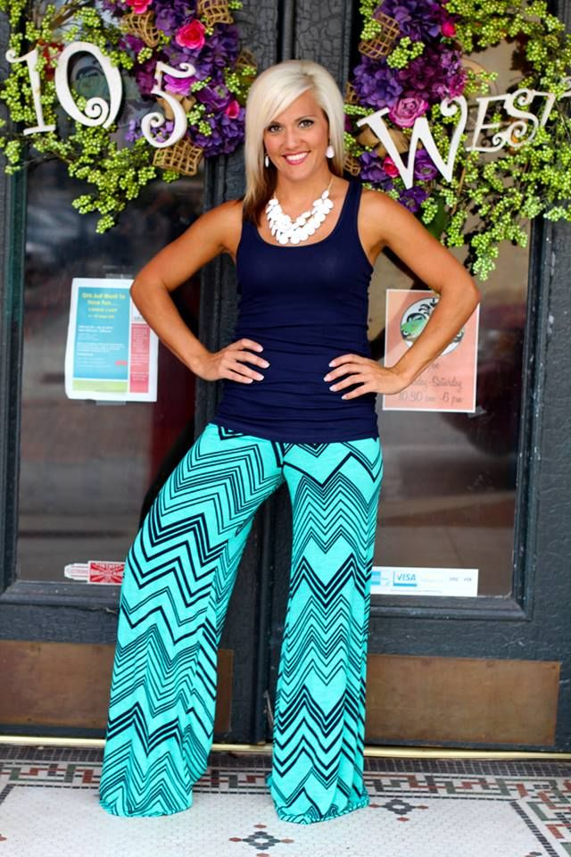 Shana Palazzo Pants $39.99 S, M, L.  | 105 West Boutique in Abbeville, SC.  (864) 366-WEST.  Shipping $5.