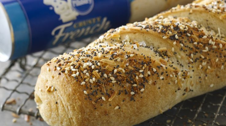 This loaf includes all the flavors of an everything bagel and is perfect for breakfast, lunch or dinner.