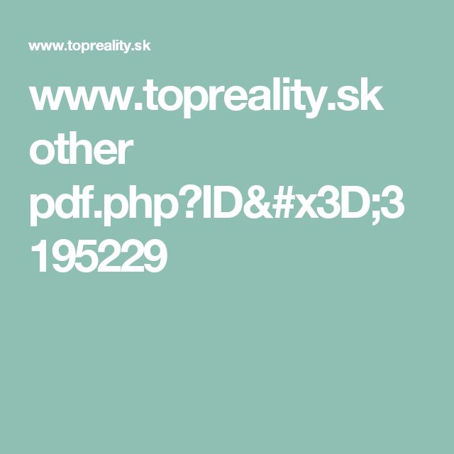 www.topreality.sk other pdf.php?ID=3195229