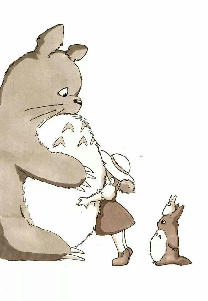 Totoro! It's so cute!!@Amanda Snelson Snelson Snelson Ellison