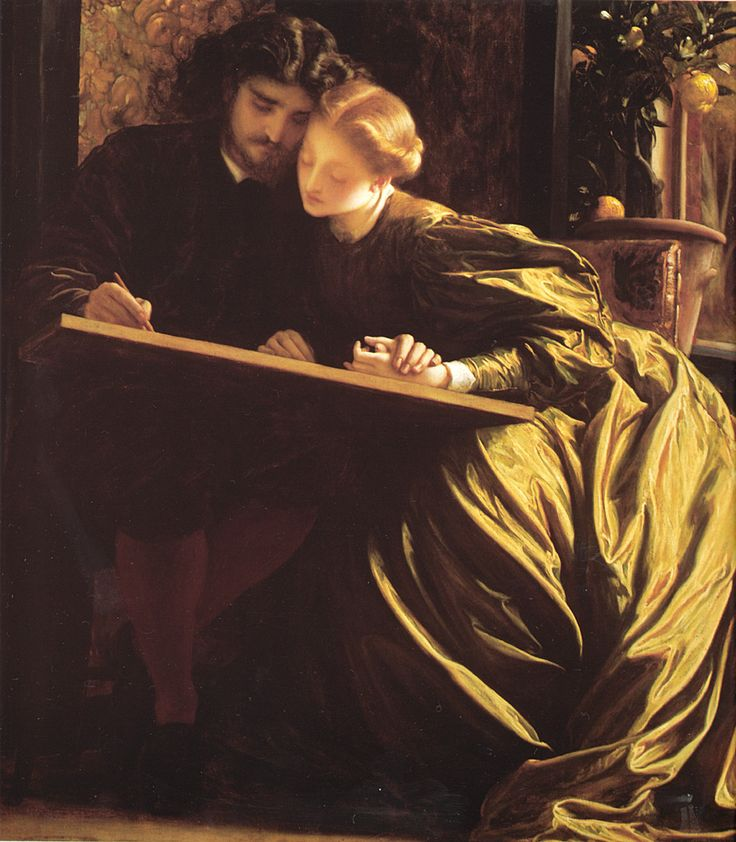 The Painter's Honeymoon by Frederick Lord Leighton, 1864