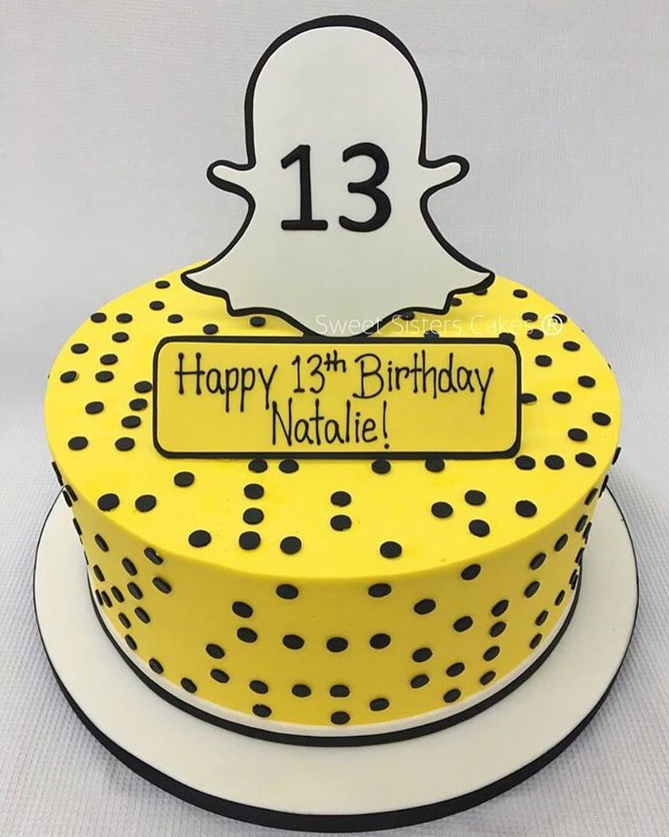 25+ Best Ideas About 13th Birthday Cakes On Pinterest
