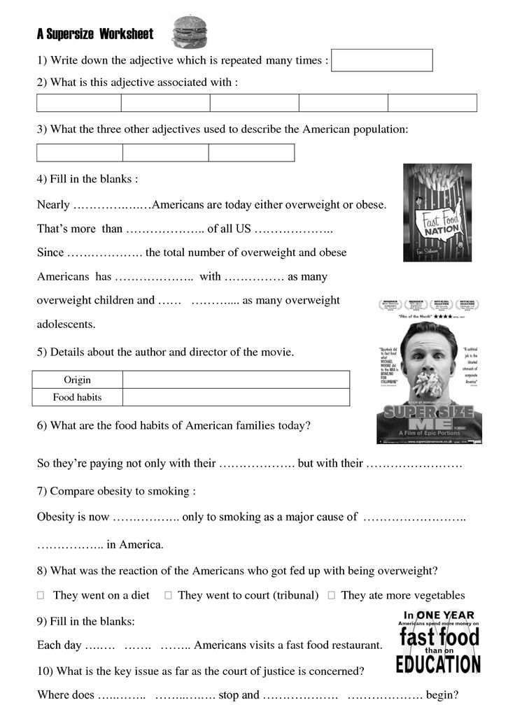 supersize me answers Super size me answer key super size me teacher worksheets supersize me video questions answers to supersize me worksheet - bing created date.