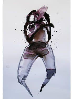 "Saatchi Art Artist Dong Li-Blackwell; Painting, ""Lady X No.47"" #art"