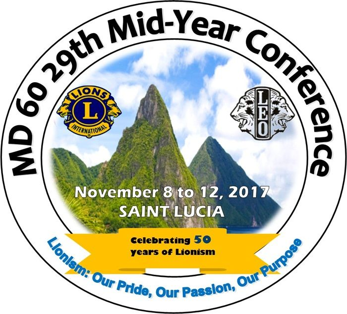(PRESS RELEASE) - The Lions and Leos of Zone 3B, Saint Lucia - (Castries, Vieux Fort, Soufriere Piton, Gros Islet and Micoud Lions, together with the Leo Clubs