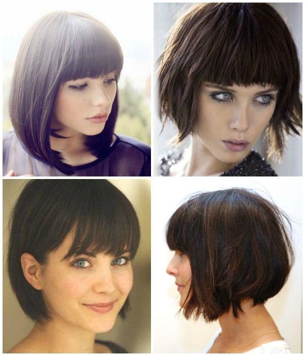 I like this haircolour for me #bob #page #brunett