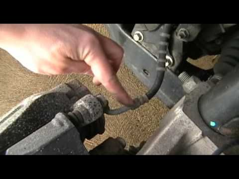 Changing brake pads on a 2006 Ford Freestyle - PART 1 - YouTube