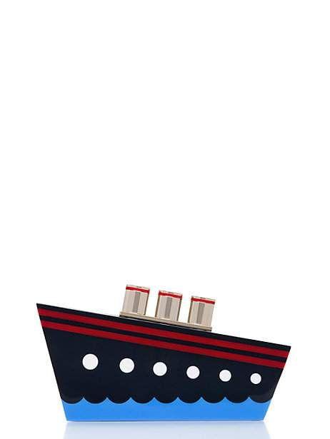ship clutch by kate spade.