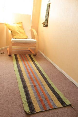 Este lama es como alfombra en un pasillo / A rug perfect for the hallway  - Fundación Chol-Chol