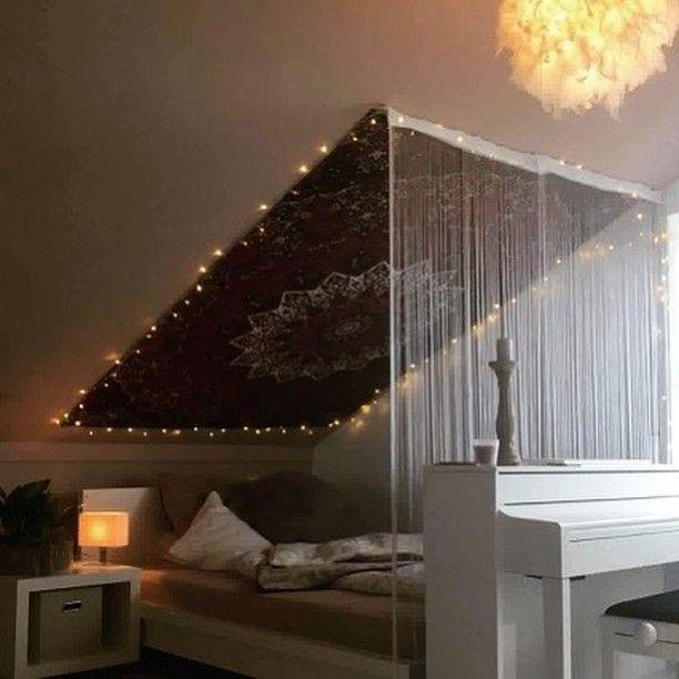 Wandtuch Inspiration für Zimmer mit Schräge 👌✨Bildeinsendung von Karo Lin…  – Kerstin Knop –