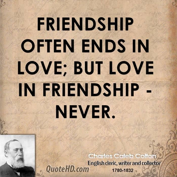 English Quotes About Friends: Charles Caleb Colton Quotes. QuotesGram