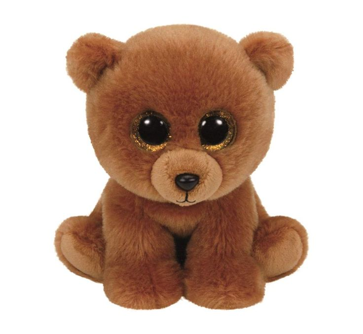 TY - Plushes - Brownie Brown Bear - 33 cm ( 90222)