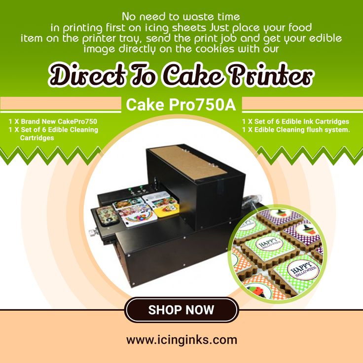Canon Printer For Edible Images Cake Cookies Cupcake