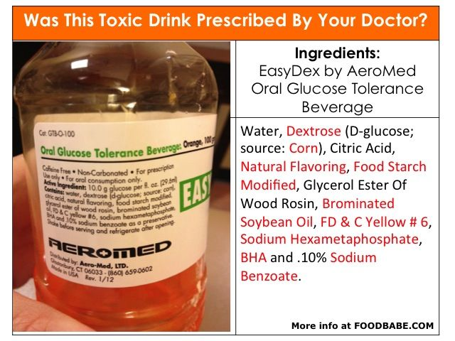 Shocking: Why Are Doctors Recommending This Toxic Drink?  I cannot even look at a pic of this drink without it making my mouth crawl and feeling the gag reflex coming on again!! Yuck!!! ~Erin
