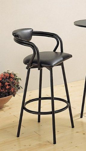 Satin finish swivel bar stools and metal frames on pinterest - Metal madeleine stool ...