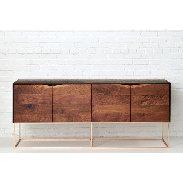 Rustic Modern Credenza By Woodsport Case Goods Cabinets Modenus Catalog Modern Credenza Modern Rustic Credenza