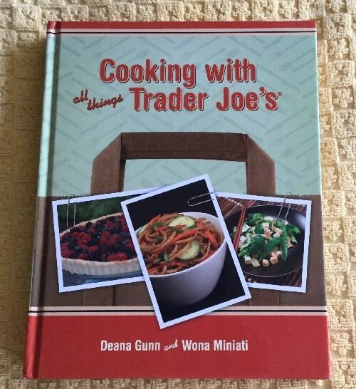 cooking with all things trader joes cookbook hardcover good book ebay