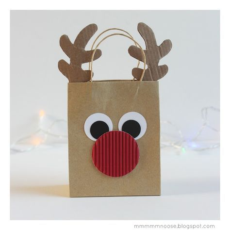 mmmmmnoose: PACKAGING NAVIDEÑO CON BOLSAS DE PAPEL