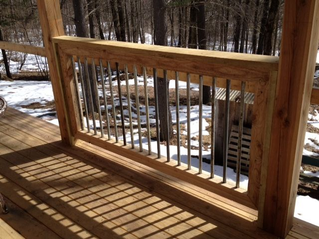 Railing Made Of Used 3 4 Quot Electrical Conduit Cabin In