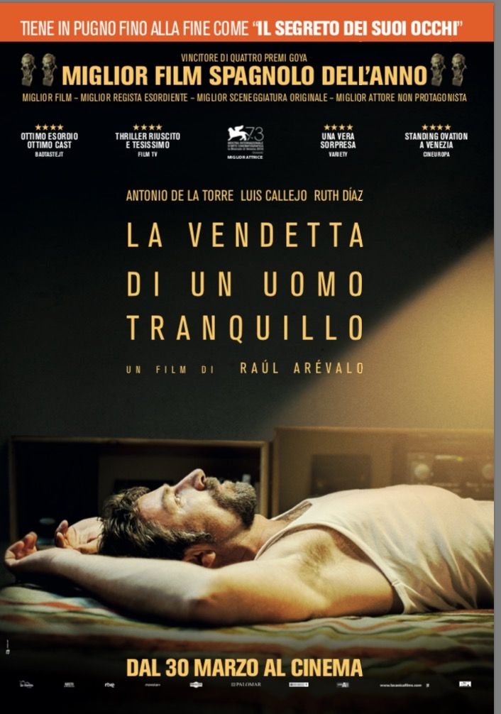 La vendetta di un uomo tranquillo: Manifesto italiano! Per recensione, trama e trailer http://www.ecodelcinema.com/la-vendetta-di-un-uomo-tranquillo-recensione-trama-trailer.htm