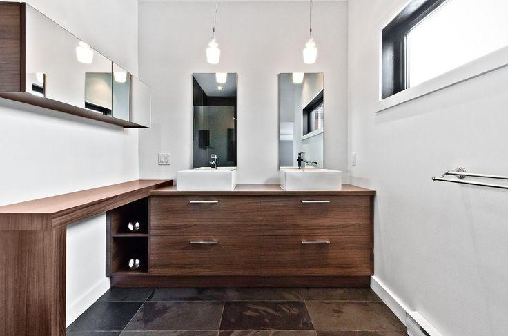 Armoires de cuisine Tendances Concept   Vanité de salle de bain