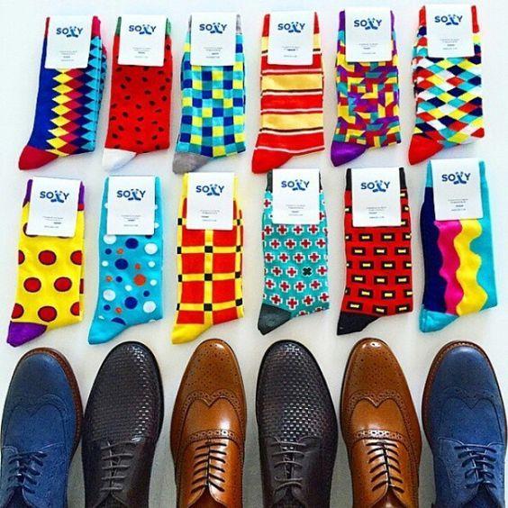 Killer men's socks from Soxy. Great dress shoes too!!!