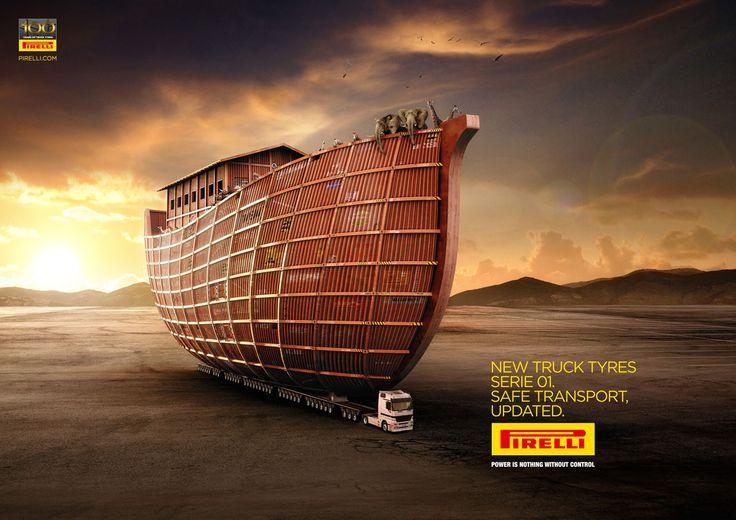 Pirelli Truck Tires ad...Noah's Ark