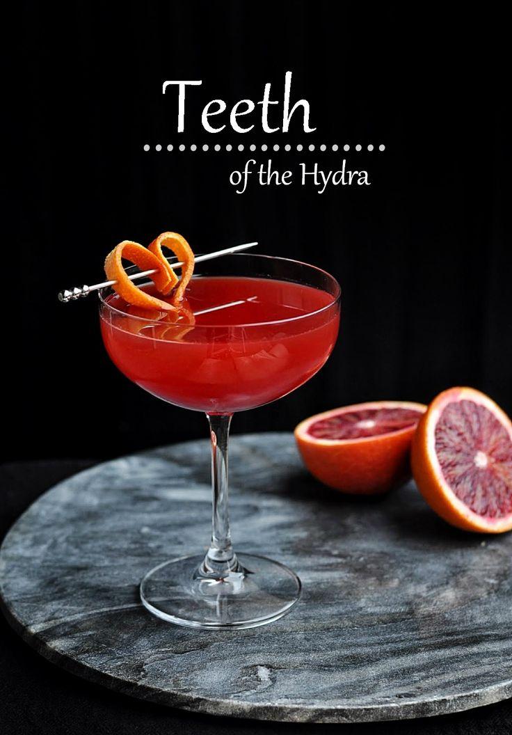 Campari, Blood Orange and Pomegranate Cocktail Recipe