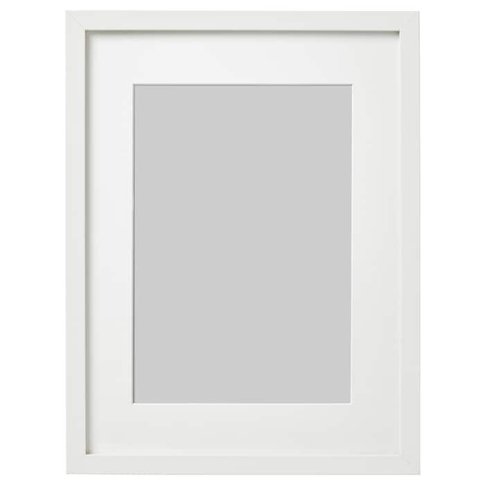 Ribba Frame White 12x16 Ikea Ribba Frame Frames On Wall Frame