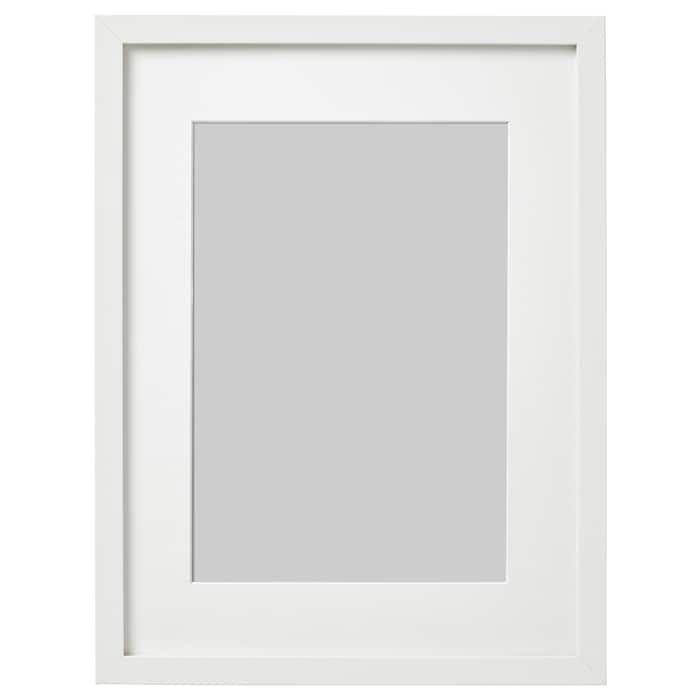 Ribba Frame White 12x16 Ikea Ribba Frame Frames On Wall Frame