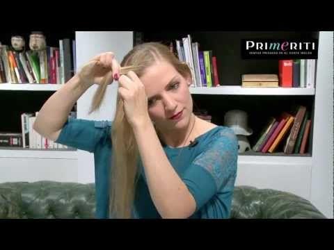 Tutorial trenza diadema (¡también para pelo corto!) - YouTube