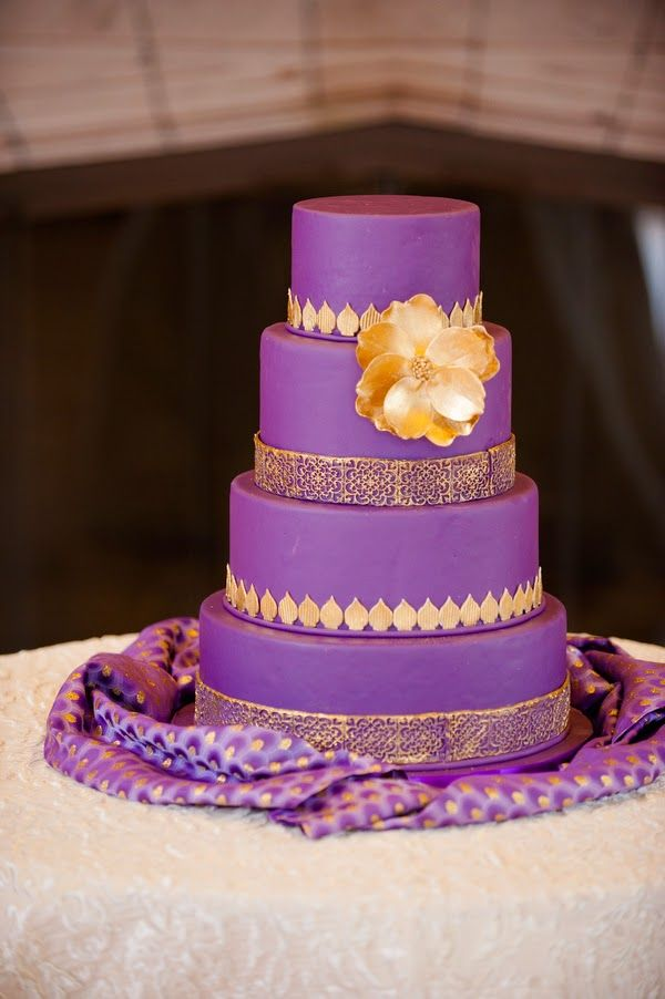 Pantone's 2014 color of the year, 'Radiant Orchid' themed wedding  |  The Frosted Petticoat