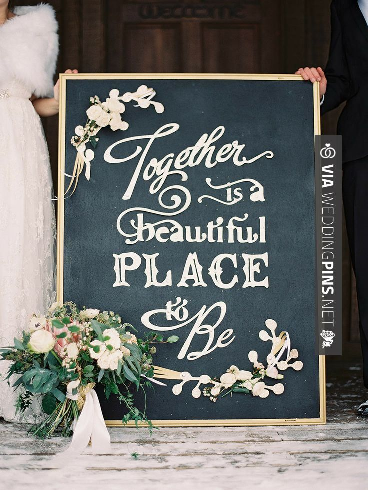 So awesome! - Wedding chalkboard sign | Photography: Laura Leslie Photography -  Photography: Gracie Blue Photography -   Read More: | CHECK OUT MORE NON TRADITIONAL WEDDING VOW INSPIRATIONS AT WEDDINGPINS.NET | #weddings #weddingvows #vows #tradition #nontraditional #events #forweddings #iloveweddings #romance #beauty #planners #fashion #weddingphotos #weddingpictures