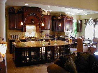 tuscan ideas   Kitchen Remodel Designs: Tuscan kitchen decorating 2