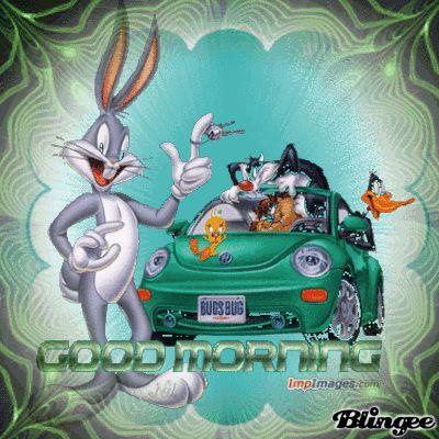 Gangster Good Morning   good morning bugs bunny the gangstar