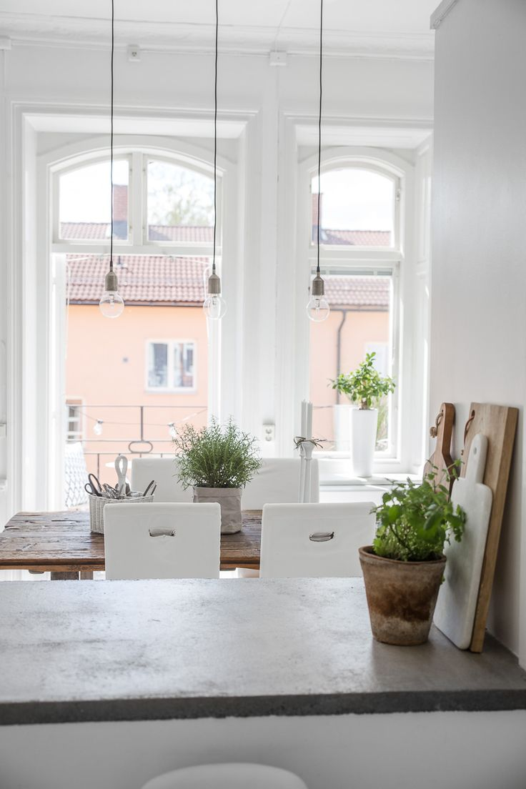 ☽ pinterest: charlottegrac3 ☾  White inspired Scandinavian interior design
