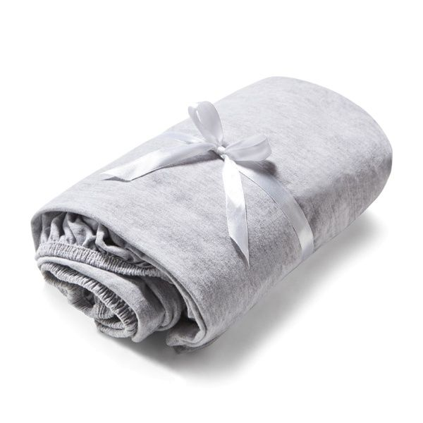 SOFT GREY kids' sheet  Made of high quality cotton with enhanced softness and delicacy for sensitive skin