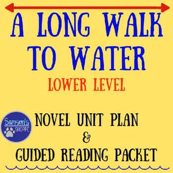 This product is for a unit plan and guided reading packet for the novel, A Long…