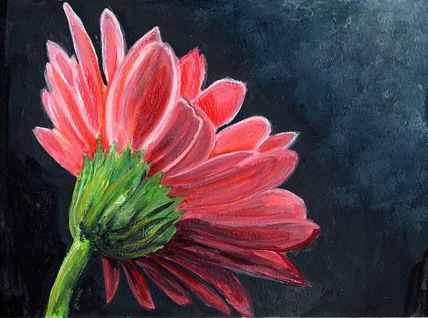 Gerber Daisy Johanna Painting Gerber Daisy Johanna Fine