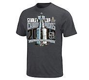 2012 StanleyCup Champions Los AngelesKing Locker Room Tee - A229495