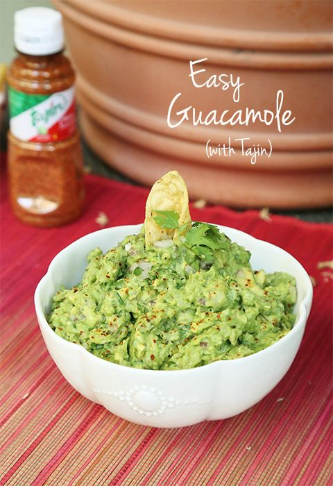 Easy Guacamole Recipe (with Tajin). #guacamole #recipe #tajin