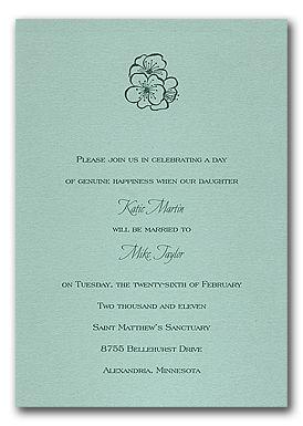 Happy Hibiscus Invitation