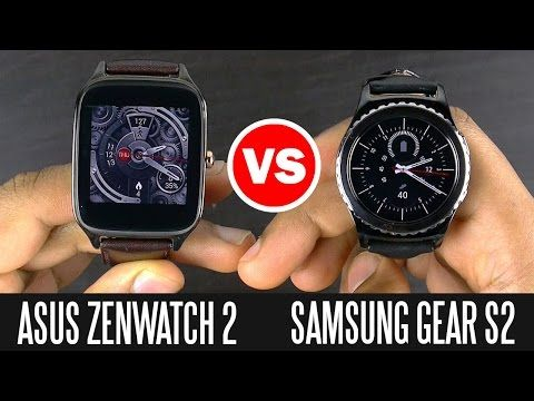 Samsung Gear S2 vs Asus ZenWatch 2 - Smart Watch Comparison - YouTube