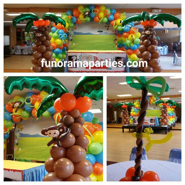 7 best Jungle theme Birthday party Decorations images on Pinterest